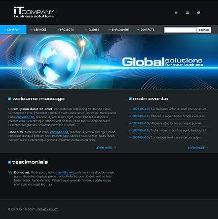 Website Template #17405