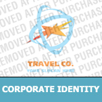 Travel Corporate Identity Template 17431