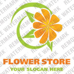 Flowers Logo  Template 17436