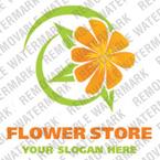 Flowers Logo  Template 17436
