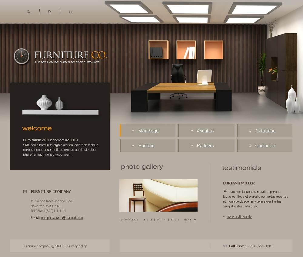 Mod le web 17490 pour site de meubles for Site ameublement