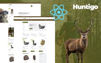 Huntigo - Hunting and Ammunition React Website Template