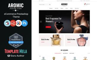 Aromic - Perfume Prestashop Theme