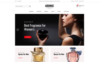 Aromic - Perfume Prestashop Theme