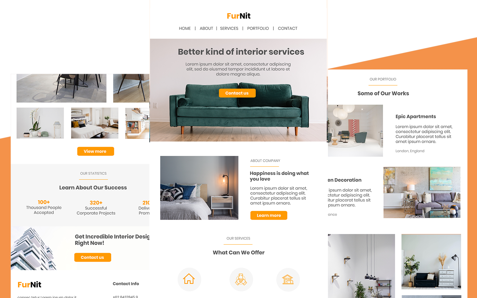 Furnite - Multipurpose Responsive Furniture Email Newsletter Template