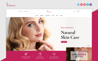 Glimmer - Beauty Responsive OpenCart Template