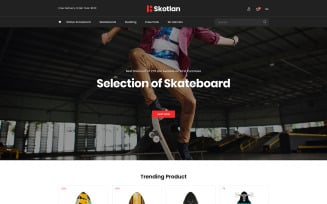 Skotlan - Skateboard and Sports PrestaShop Theme