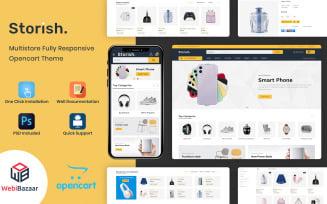 Storish - Multipurpose Responsive OpenCart Theme