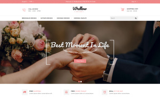Wedlow - Wedding Prestashop Theme