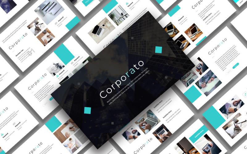 Corporato – Business Presentation PowerPoint Template