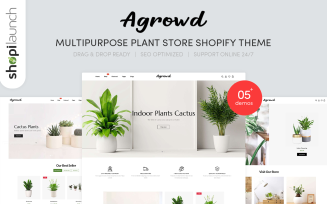 Agrowd - MultiPurpose Plant Store Shopify Theme