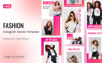 Free Fashion Instagram Templates Feminine Stories