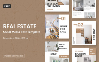 Free Instagram Post Templates for Real Estate
