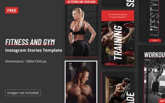 Free Instagram Story Fitness Templates