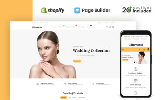 Goldments Jewellery Store Shopify Theme