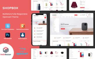 Shopbox - Minimal OpenCart 3 Template