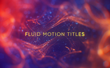 Fluid Motion Titles After Effects Template