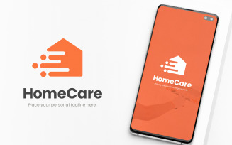 Home Delivery Service Logo Template