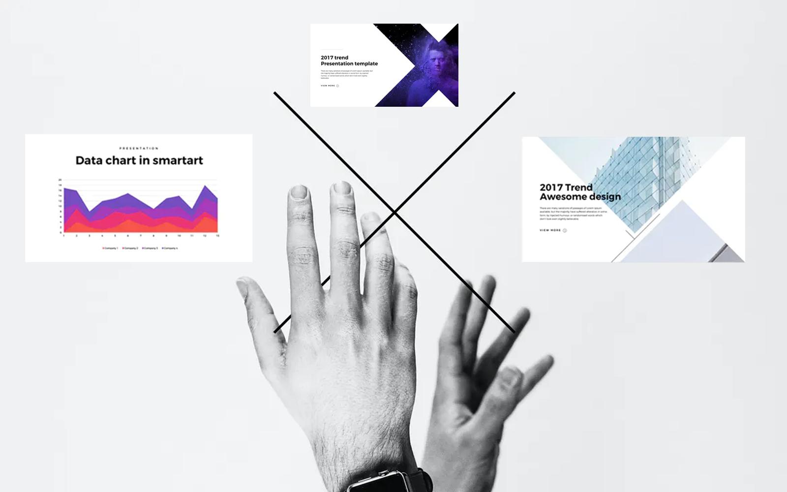 Presentation x - PowerPoint template