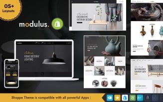 Modulus - Multipurpose Shopify Responsive Theme