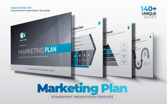 The Best Marketing Plan PowerPoint Template