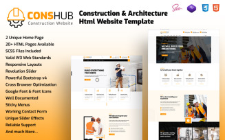 Conshub - Construction & Architecture Html Website Template