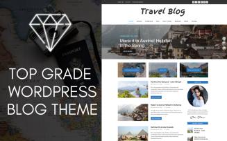 Diamond WordPress Travel Blog Theme