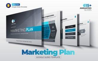 The Best Marketing Plan Google Slides
