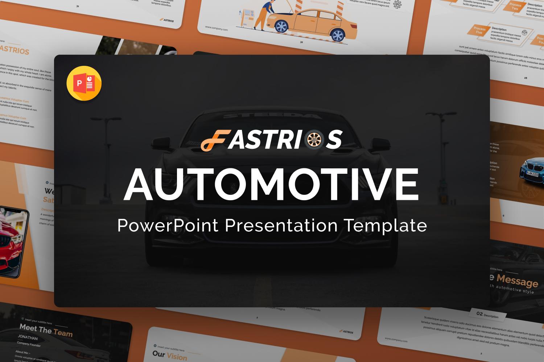Fastrios – Automotive PowerPoint Presentation Template