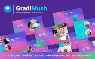 FREE GradiMush Creative Business Professional Presentation