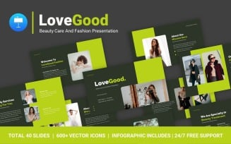 FREE LoveGood Beauty Care And Fashion Professional Presentation