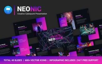FREE NeoNick Creative Cyberpunk Professional Presentation