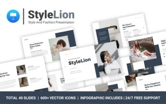 FREE StyleLion Style And Fashion Professional Presentation