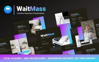 FREE WaitMass Creative Business Professional Presentation