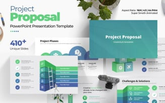 The Best Project Proposal PowerPoint Template