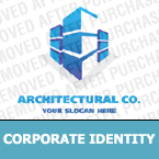 Architecture Corporate Identity Template 17662