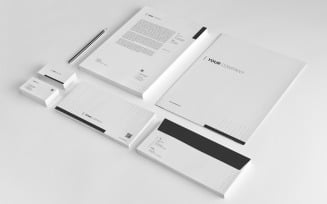 Brand Stationery Corporate Identity template