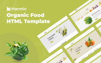 Harmic - Organic Food HTML Website Template