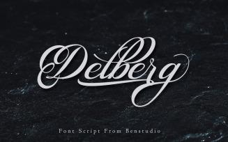 Delberg Fonts, Script, Callygraphy