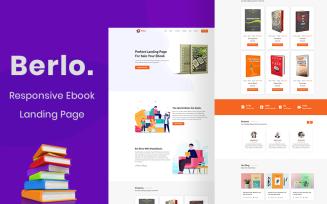 Berlo - Ebook Landing Page Template