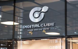 Digital Cube Logo template