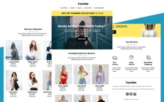 FashMe - Multipurpose Fashion Email Template Responsive Newsletter template