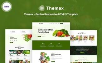 Themex - Garden Responsive HTML5 Website Template