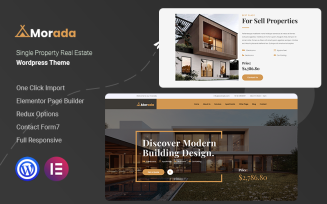 Morada - Single Property Real Estate WordPress Theme
