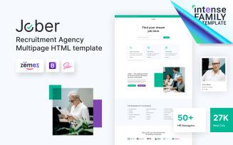 Jober - Recruitment Agency HTML5 Website Template