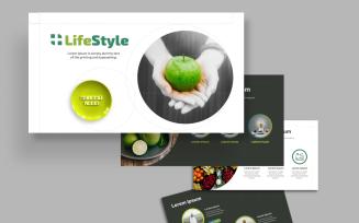 Vita - Organic Food and Nutrition Lifestyle Google Slides Template