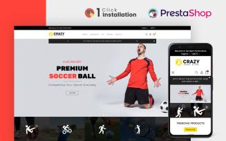 Crazy Sports Store PrestaShop Theme