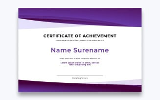 Free Classic Certificate of Achievement Template