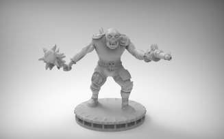 Orc Boyz 3D Model