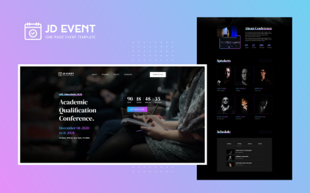 JD Event – Responsive Event Website Joomla Template